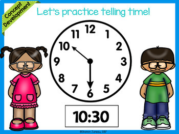 Module 5 Lesson 12 | Time to the Hour and Half Hour | Daily Math