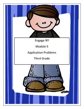 Module 5,Math, Third Grade - Application Problems