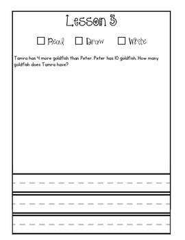 First Grade Module 6 Application Journal
