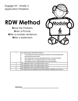 Module 6 Application Problems Engage NY Grade 2