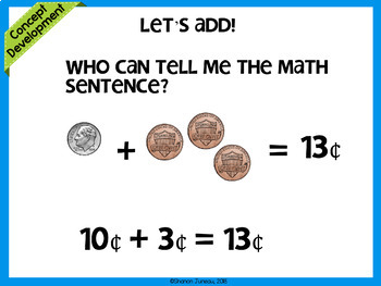 Module 6 Lesson 23   Counting on using pennies