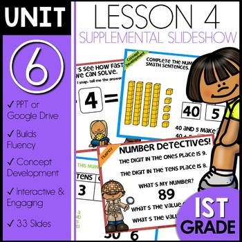 Module 6 Lesson 4   Place Value up to 100