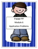 Module 6, Math, Third Grade - Application Problems- Engage NY