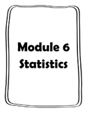 Module 6 Statistics Notesheets