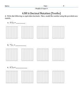 Module 6 Topic A Quiz