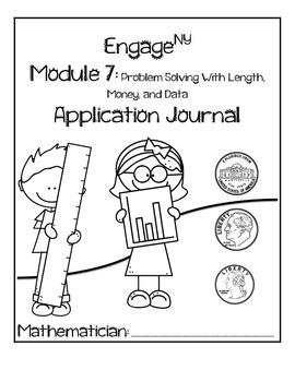 Second Grade Module 7 Application Problem Journal