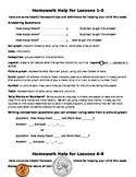 Module 7 Homework Helper Bundle