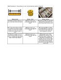 Module 7 Length, Money and Data choice board and answer key