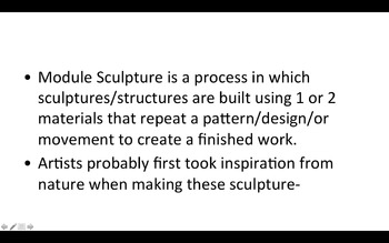 Module Sculpture Project