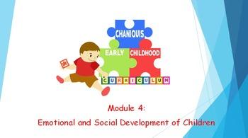 Módulo 4: Desarrollo social y emocional