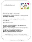 Moedas Brasileiras Brazilian Coins Flashcards
