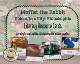 Moffat The Rabbit Colors: Philadelphia Vocabulary Cards/Activities