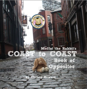 Moffat The Rabbit Opposites Softcover Book
