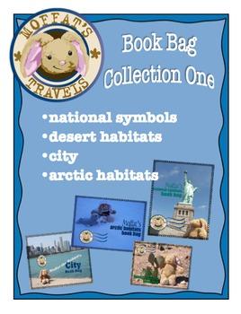 Moffat's Book Bags 1: National Symbols, Arctic, Dessert Habitat and The City
