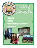 Moffat's Book Bags 2: Space, Farm, Mountain Habitats and Pirates