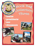 Moffat's Book Bags 3: Trains, Presidents, Zoo and Dinosaurs