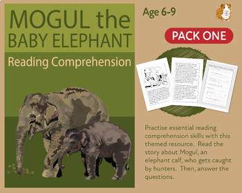 Mogul The Baby Elephant (1) Let's Practise Our Reading Comprehension (6-9 years)