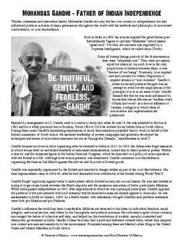 Who wrote mahatma gandhi biography