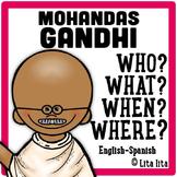 Mohandas Gandhi Fold&Learn