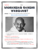 Gandhi - Webquest with Key