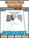 Gandhi - Webquest with Key
