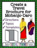 Mohenjo-Daro Project (Ancient India) - Create a Travel Brochure