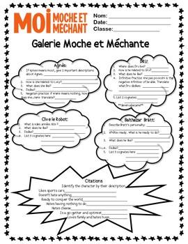 Moi, Moche et Mechant (Despicable Me) Authentic Text French Family Reading