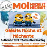 Moi, Moche et Mechant (Despicable Me) Authentic Text Frenc