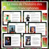 Le mois de l'histoire des noirs francophones - Black Histo