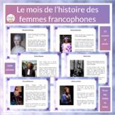 Le mois de l'histoire des femmes francophones - Women's Hi