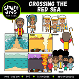 Crossing the Red Sea Clipart