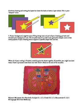 Colorful Central American Mola (Meets Intercultural Standard)