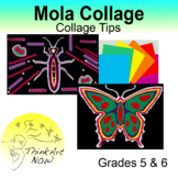 Art Lesson - Mola Collage Think Art Now