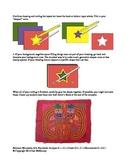 Colorful Central American Mola (Meets Intercultural Standard)