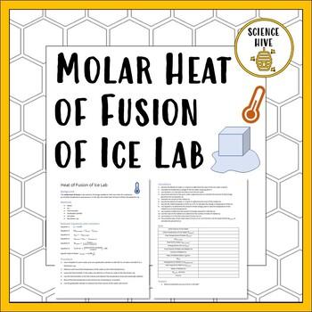 Molar Heat of Fusion of Ice Lab
