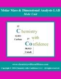 Molar Mass & Dimensional Analysis LAB
