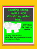 Counting Atoms, Moles, and Calculating Molar Mass