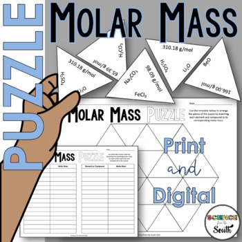 Moles, Molarity and Concentration Edexcel 9-1 Separate ... |Molar Mass Science