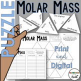 Molar Mass Puzzle for Review or Assessment