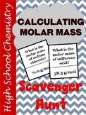 Molar Mass Scavenger Hunt - EDITABLE
