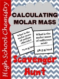 Molar Mass Scavenger Hunt