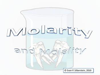 Molarity and Molality