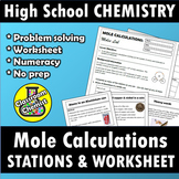 Mole Calculations: Stations Lab