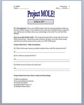 Mole Chemistry-Complete Unit