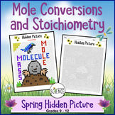 Mole Concept and Stoichiometry Spring-Themed (Color By Number)