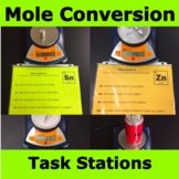 Mole Conversion Task Stations (one & two step, elements &