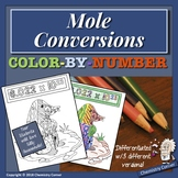 Mole Conversions Color-By-Number
