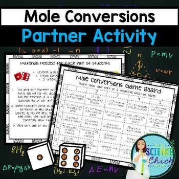 Mole Conversions Partner Activity