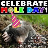 BUNDLE of Mole Day Activities!