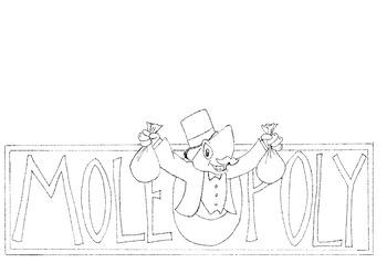Mole Day Molopoly Theme